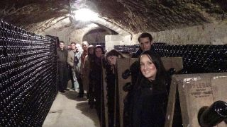 In The Cellars At Hure Freres for MMIC web site