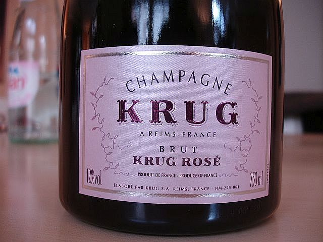 Krug Rose label 19th Feb 2010