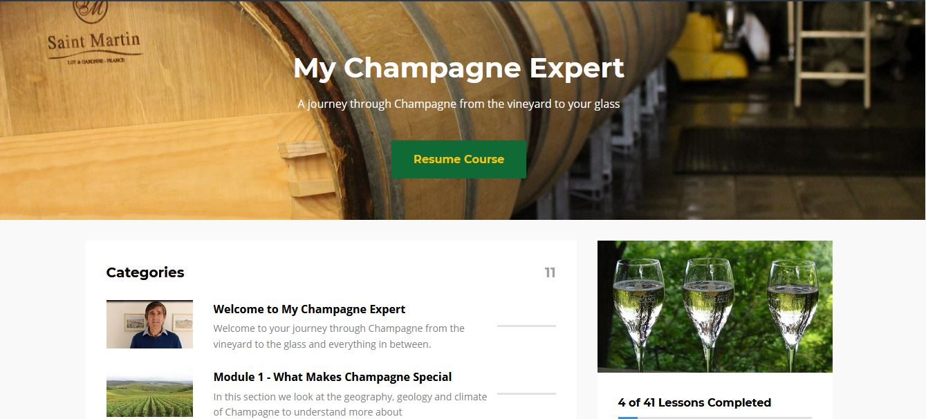 My Champagne Expert screen shot 1